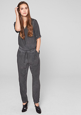 jumpsuits overalls f r damen bequem im s oliver online shop kaufen. Black Bedroom Furniture Sets. Home Design Ideas