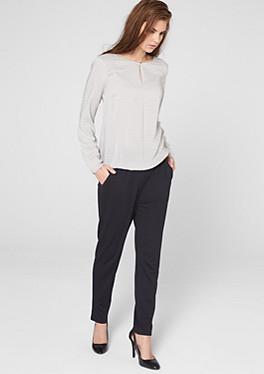patterned long sleeved tops order now in the s oliver online shop. Black Bedroom Furniture Sets. Home Design Ideas