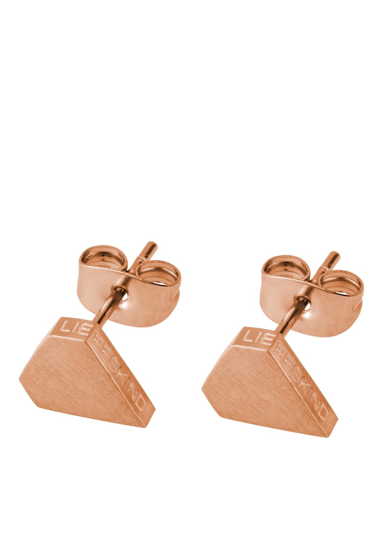 Artikel klicken und genauer betrachten! - Liebeskind Berlin Es müssen nicht immer echte Brillanten sein, denn auch diese kleinen Ohrstecker haben einen umwerfenden Effekt! Die ikonische Diamantenform zeigt sich mit einer gebürsteten Oberfläche und mattem Glanz. Eine feine Logoprägung am Rand verleiht dem minimalistischen Schmuckstück den letzten Feinschliff., gebürstetes Finish, feine Logoprägung, erhältlich in Silbern, Golden, Roségolden, Durchmesser: 8 mm, Verschluss: Stecker mit Poussette   im Online Shop kaufen