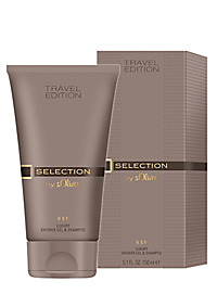 Travel Edition SELECTION by s.Oliver Men - Luxury Shower Gel & Shampoo 150 ml