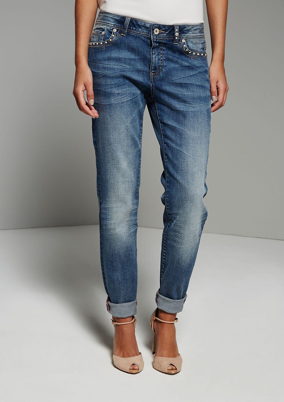 boyfriend jeans fashion mode comma online. Black Bedroom Furniture Sets. Home Design Ideas