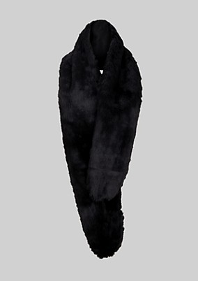 Kuscheliger Schal aus Fake-Fur