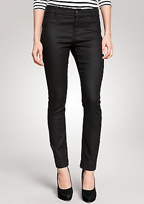 Roughe Black Denim Jeans