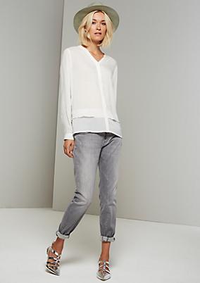 Elegante Bluse mit feinen Designfeatures