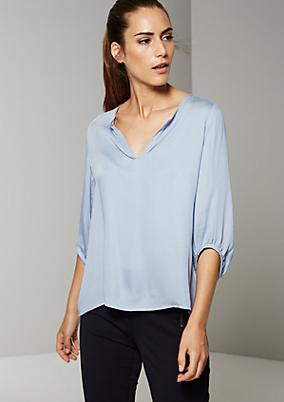 Feminine 3/4-Arm Bluse mit schönen Details
