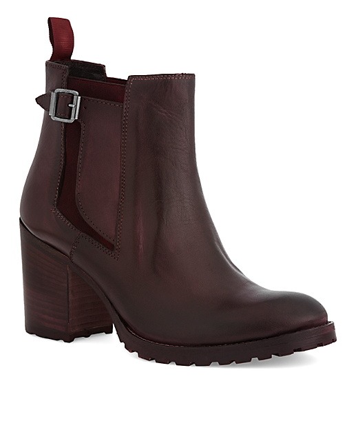 napoli chelsea boots mit breitem absatz i liebeskind schuhe. Black Bedroom Furniture Sets. Home Design Ideas
