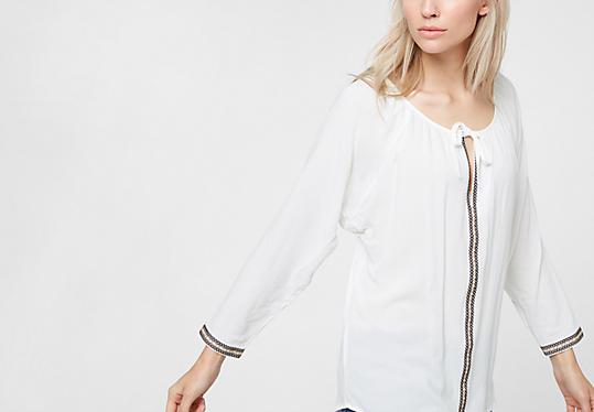 Bluse mit Boho-Charme von s.Oliver