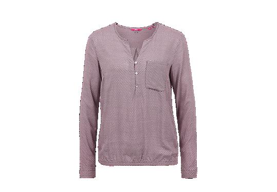 Bluse mit Musterprint von s.Oliver