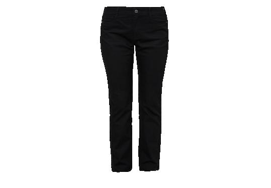 Curvy: Schwarze Stretch-Jeans von s.Oliver