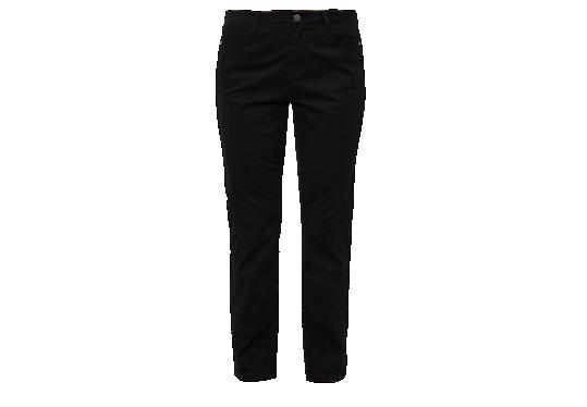 Curvy fit: zwarte stretchjeans van s.Oliver