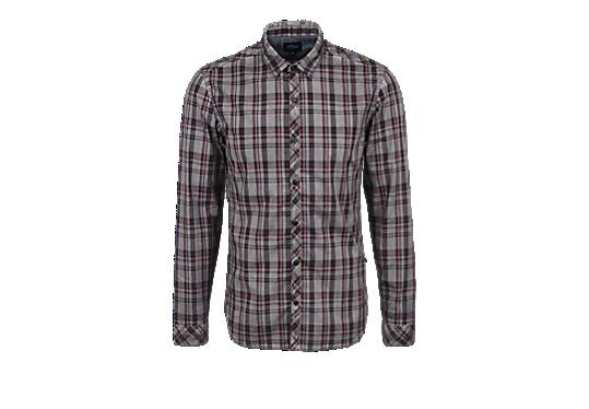 Extra Slim: Hemd mit Dirt-Effekt von s.Oliver