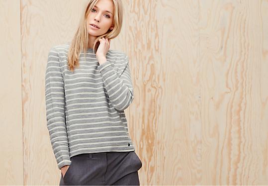 sweatshirts f r damen bequem im s oliver online shop kaufen. Black Bedroom Furniture Sets. Home Design Ideas