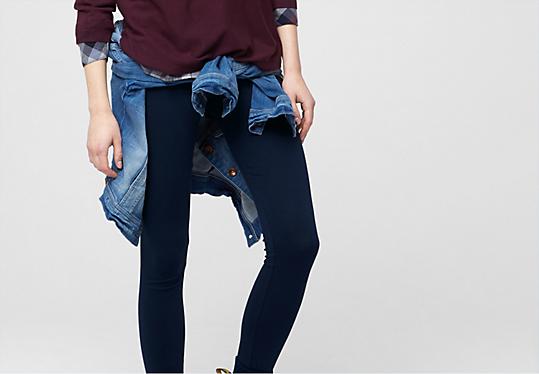 Leggings aus Baumwollstretch von s.Oliver