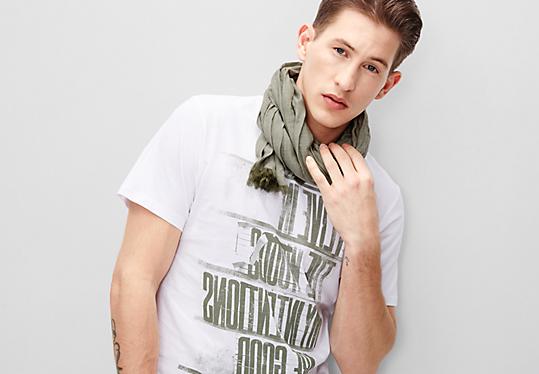 Leichter Crinkle-Schal von s.Oliver