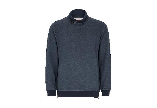 Melierter Sweater mit Zippern von s.Oliver