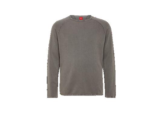Pigment Dye-Pullover mit Struktur von s.Oliver