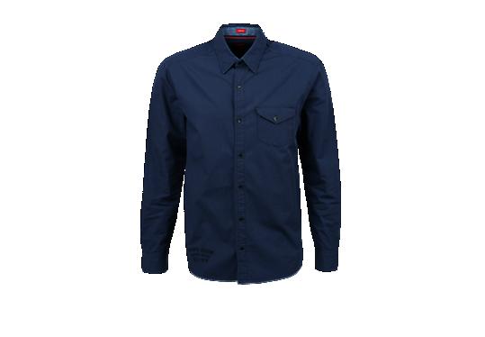 Regular: Hemd mit Vichy-Karos von s.Oliver