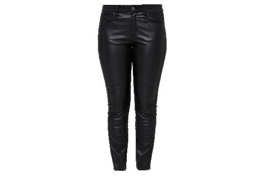 Regular: Jeans mit Kunstleder von s.Oliver