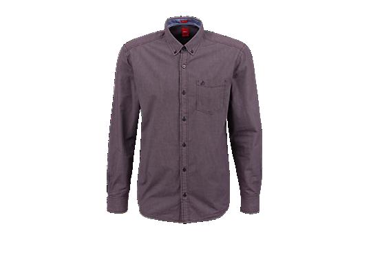 Regular: Kariertes Button-Down-Hemd von s.Oliver