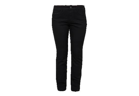 Regular: Schwarze Stretch-Jeans von s.Oliver