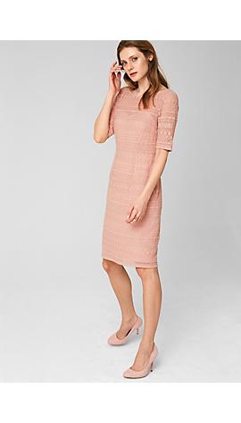 Kleid aus Baumwoll-Spitze von s.Oliver