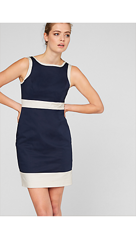 Kleid im Color Blocking-Look von s.Oliver