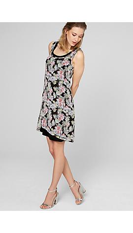 Kleid mit Allover-Blumenprint von s.Oliver