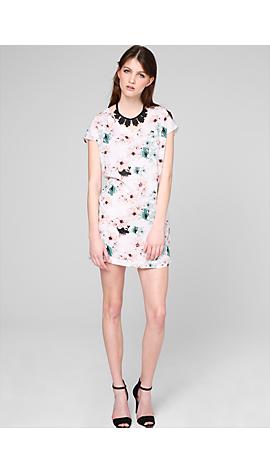 Kleid mit Allover-Print von s.Oliver