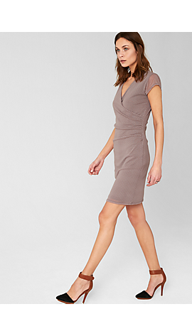 Mesh-Kleid in Wickel-Optik von s.Oliver