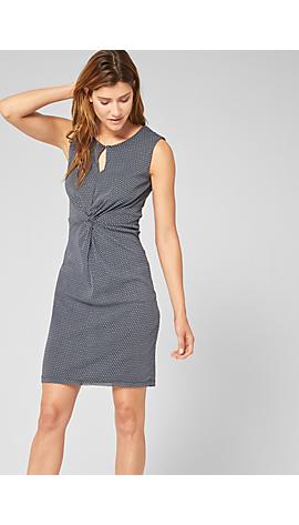 Mesh-Kleid mit Drapé-Effekt von s.Oliver