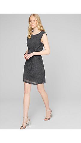 Mesh-Kleid mit Musterprint von s.Oliver