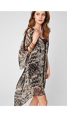 Tunika-Kleid aus Seide von s.Oliver