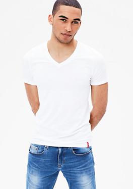2er-Pack V-Neck-Shirts von s.Oliver