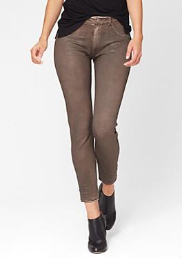 7/8-Sweathose im Jeans-Look von s.Oliver