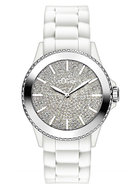 Armbanduhr mit schickem Zifferblatt von s.Oliver
