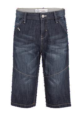 Benno: Denim-Shorts mit Effektnähten von s.Oliver