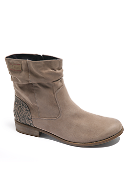 Booties in Velours-Optik von s.Oliver