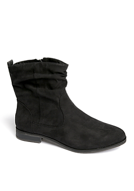 Boots in Veloursleder-Optik von s.Oliver
