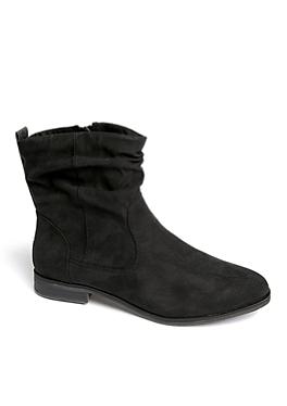 Boots van imitatiesuède van s.Oliver