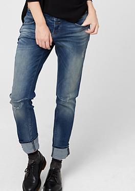 Catie Slim: Jeans im Used-Look von s.Oliver