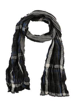 Doubleface-Schal aus Baumwolle von s.Oliver