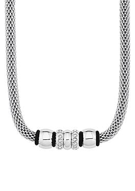 Edelstahl-Kette mit Beads von s.Oliver