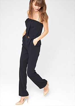 jumpsuits overalls f r damen bequem im s oliver online. Black Bedroom Furniture Sets. Home Design Ideas