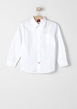 Elegantes Hemd in Unicolor von s.Oliver