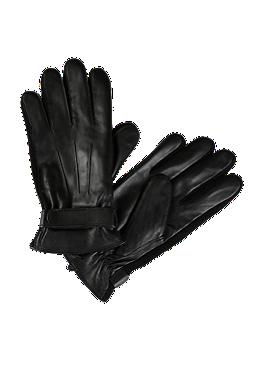 Fingerhandschuhe aus Leder von s.Oliver