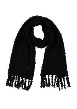 Fransen-Schal aus Struktur-Strick von s.Oliver
