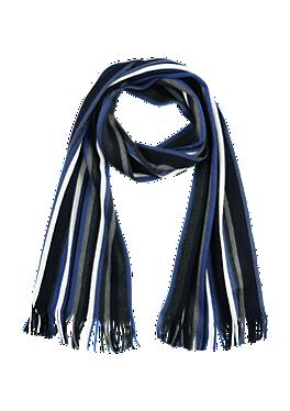 Geribde sjaal van een wolmix van s.Oliver