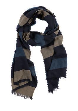 Gestreifter Schal mit Fransen von s.Oliver