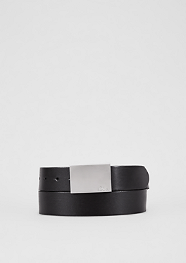 Glatter, eleganter Ledergürtel von s.Oliver