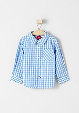 Hemd mit Vichy-Karos von s.Oliver